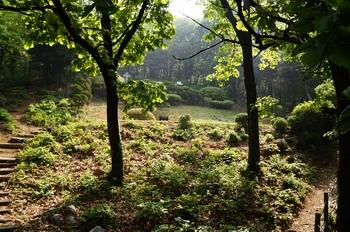 반주골 이승훈 베드로 묘 전경. 이승훈의 유해는 1981년 천진암의 한국 천주교회 창립 선조 묘역으로 이장되었다.