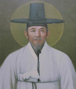성 장주기 요셉 회장 영정.
