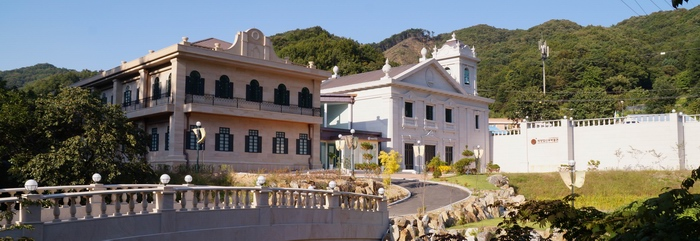 2014년 축복식을 갖고 개관한 최양업 신부 박물관.
