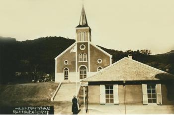 현 서산동문동 성당의 옛 모습.