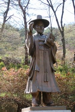 성 김대건 안드레아 신부상.