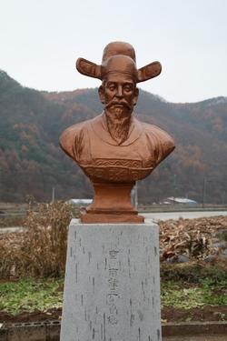 성 남종삼 요한 흉상.