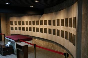 절두산 순교자 기념성당 지하의 성해실. 27위의 성인과 1위의 무명 순교자 유해가 모셔져 있다.