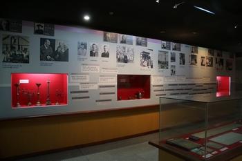 목포 선교 100주년 기념관 내부 전시실.