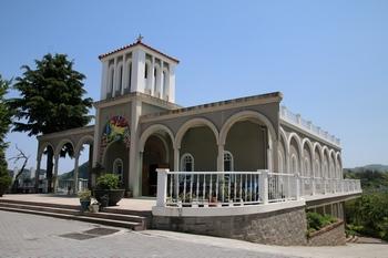 2010년 축복식을 가진 진 야고보 신부 순교 60주년 기념 성삼 교육관.