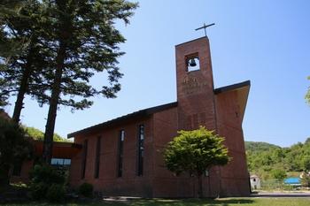 2008년 공소 설립 100주년을 기념하여 은인들의 도움으로 건립한 새 성당.
