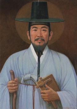 성 김성우 안토니오(박덕수 작).