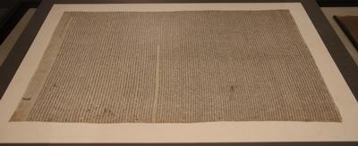 2014년 서울역사박물관에서 개최된 서소문 동소문 별곡전에 전시된 황사영 백서 원본 사진입니다.