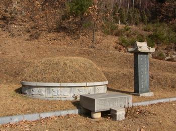 성 남종삼 요한 묘소.