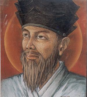 성 황석두 루카 회장.