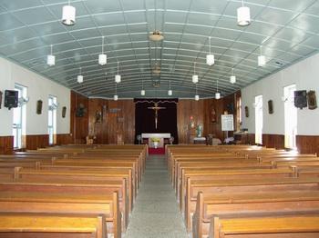 성당 내부.